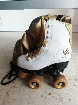patines cuatro ruedas krf roller Classic