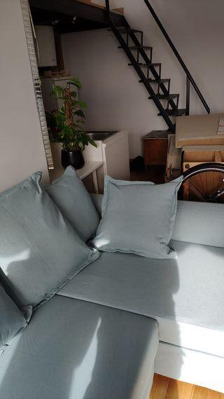montaje de sofá chaise longue económico Ikea