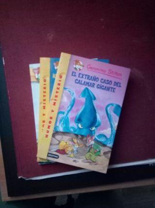 Saga de libros de Gerónimo Stilton