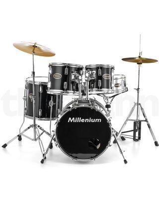 Batería Millenium MX218BX Combo Set BK