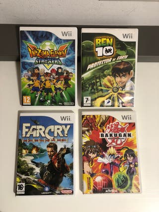 Pack 4 juegos Wii