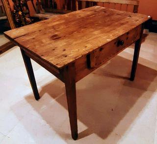 """Antigua mesa """"tocinera"""" mesa de cocina antigua"""