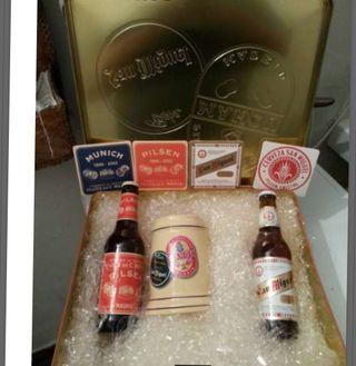 Caja cervezas Mahou-San Miguel