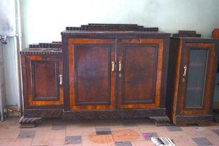 Mueble aparador madera modernista