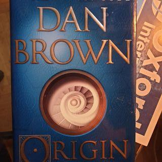 Libro Origin - Dan Brown (Inglés)