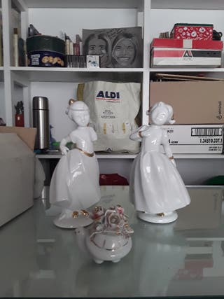 Figuras de Lladró acabadas en Oro