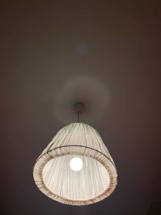 Lámpara de tela