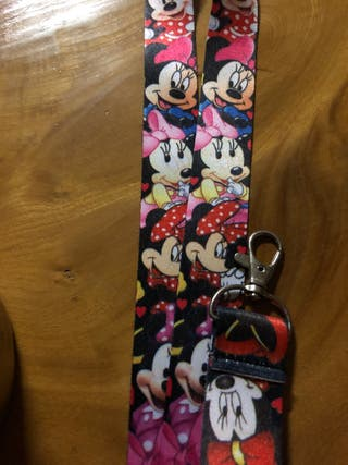 Minnie Mouse lanyards