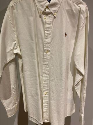 Camisa Ralph Lauren blanca niño