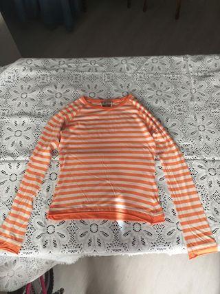 Camiseta manga larga Zara