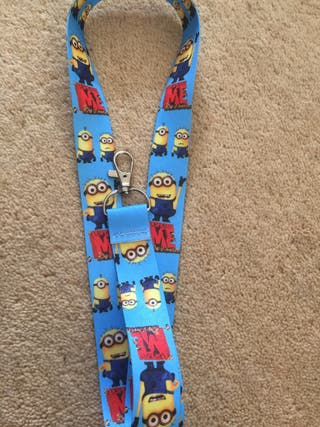 Minions scooby and Marie lanyards