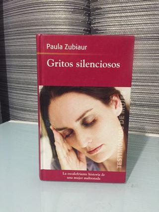 Libro Gritos silenciosos - Paula Zubiaur