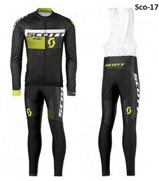 OFERTA: Equipación ciclismo termal Scott-17 t.S,XL