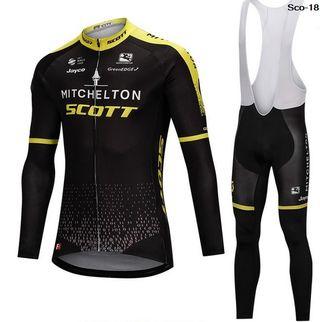 OFERTA: Equipación ciclismo invierno Scott-18 t.S