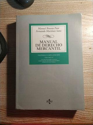 Manual de derecho mercantil vol. II