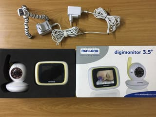 Monitor vigilancia bebe.Miniland