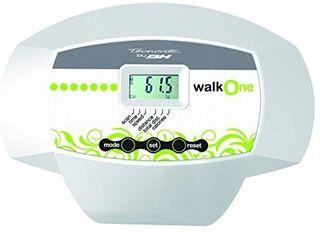 Cinta para andar con monitor LCD y ruedas,blanco