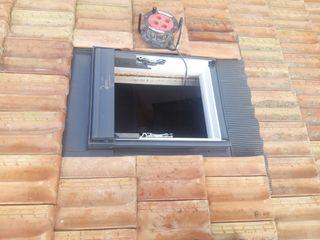 trabajos de tejado y ventanas velux