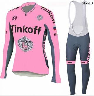 OFERTA: Equipación ciclismo invierno Tink Off t.L