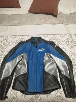 chaqueta moto Alpinestars cuero (piel)
