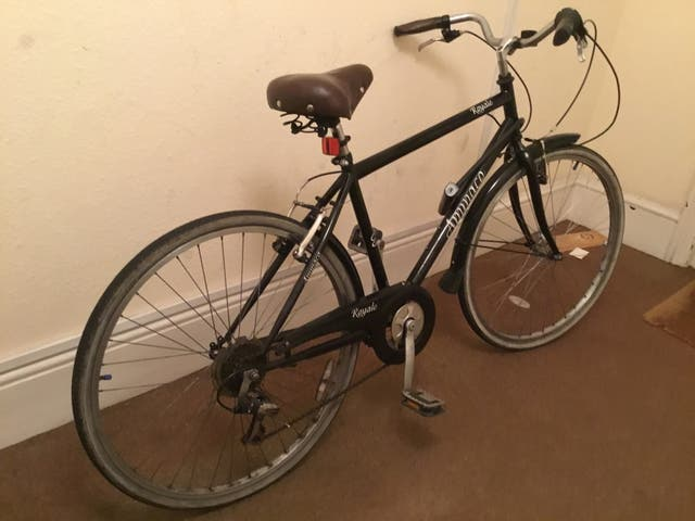 Urban bicycle, very comfortable, good condition!
