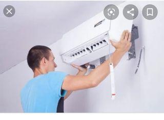 Se ofrece técnico frigorista para instalacion