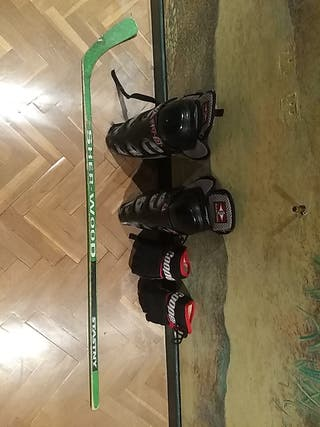 Material de hockey patines