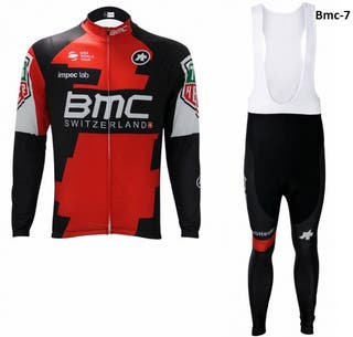 OFERTA: Equipación ciclismo termal BMC t.XL