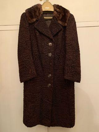 Abrigo de astracán vintage