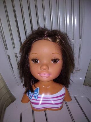 Cabeza muñeca Nancy