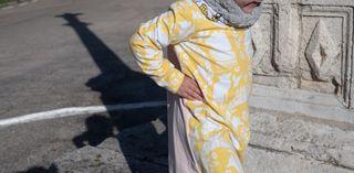 Vestido en algodón orgánico, 3 años (nuevo)