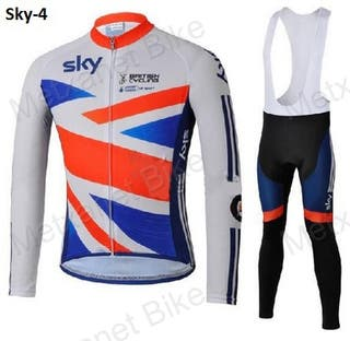 OFERTA: Equipación ciclismo termal Sky-4 t.XL