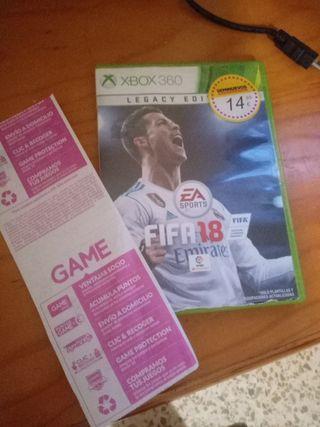 FIFA 2018 Xbox 360 nueva