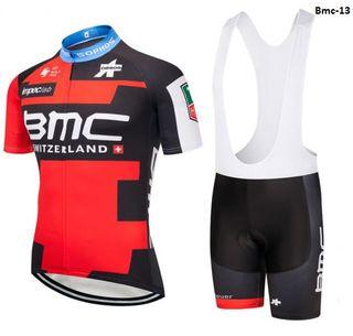 Equipación ciclismo verano BMC t. M