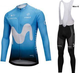 OFERTA: Equipación ciclismo termal Movistar-6 t.XL