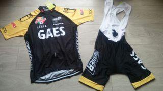 Equipación ciclismo verano Gaes t. L