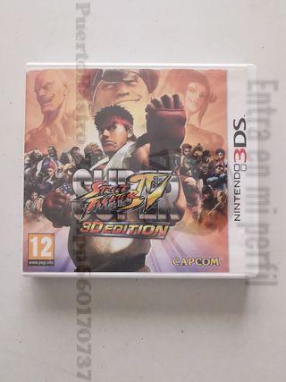 Super street fighter IV 3 edition nintendo 3 ds