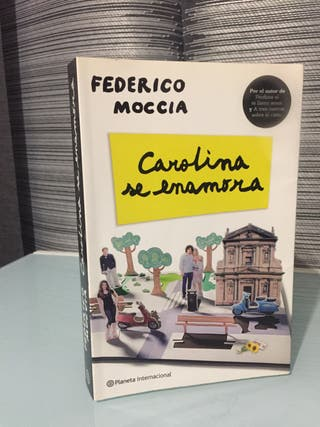 Libro Carolina se enamora - Federico Moccia