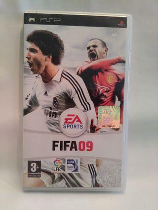 Videojuego FIFA 09 para PSP SONY