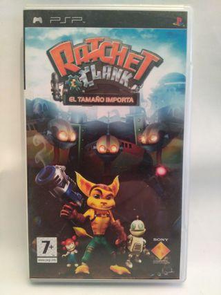Videojuego RATCHET CLANK para PSP SONY