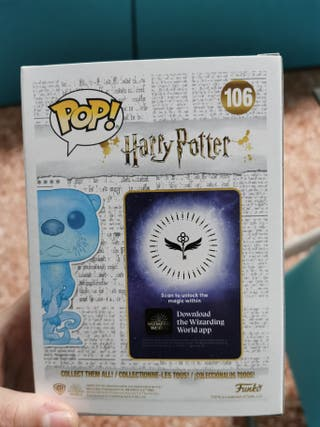funko pop patronus hermione PRE-RELEASE.