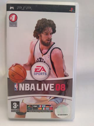 Videojuego NBA LIVE para PSP SONY