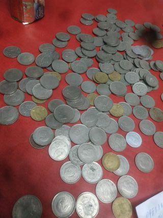 duros pesetas de Franco de mundial 82y del rey