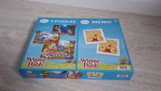 Juego de memoria y puzzles