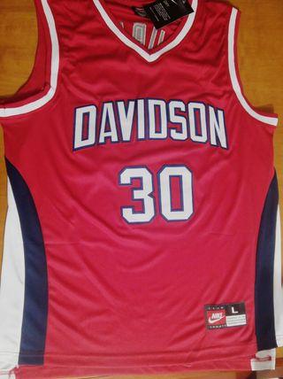 Camiseta Baloncesto NCAA #30 Curry