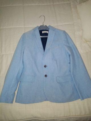 chaqueta americana para niño 10, 11 años.