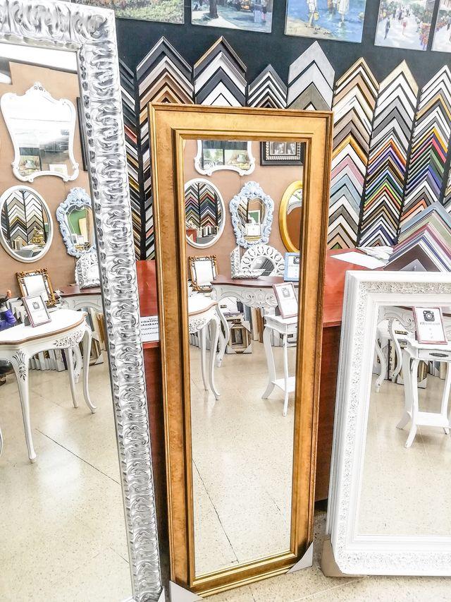 NUEVO Espejo Dorado 180x60