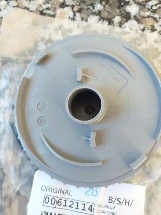 Cabeza de aerosol Lavavajillas Bosch 00612114