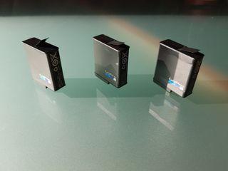 3 Batería ORIGINAL GOPRO. Para GoPro Hero7 6 y 5