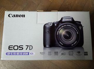 Canon 7D y Objetivo